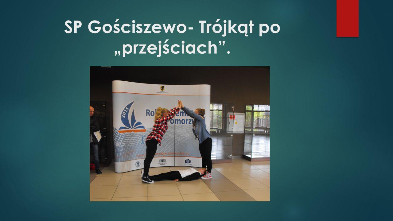 """SP Gościszewo- Trójkąt po """"przejściach""""."""