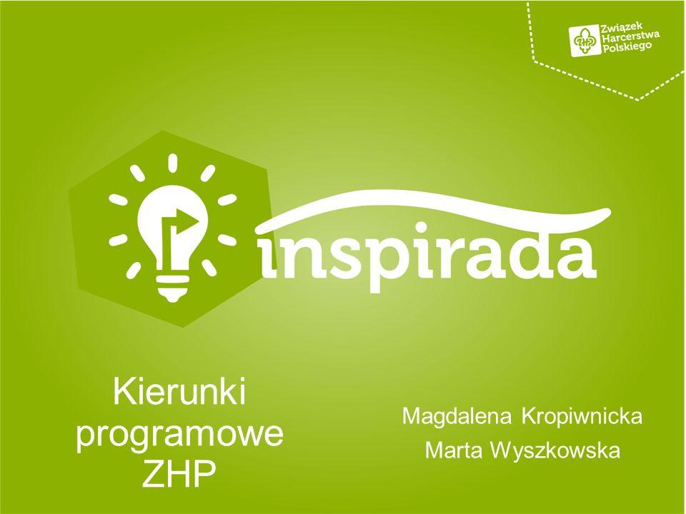 Kierunki programowe ZHP Magdalena Kropiwnicka Marta Wyszkowska