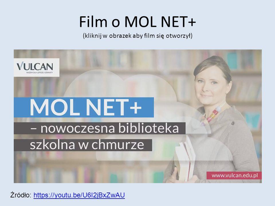 Film o MOL NET+ (kliknij w obrazek aby film się otworzył) Źródło: https://youtu.be/U6I2jBxZwAUhttps://youtu.be/U6I2jBxZwAU