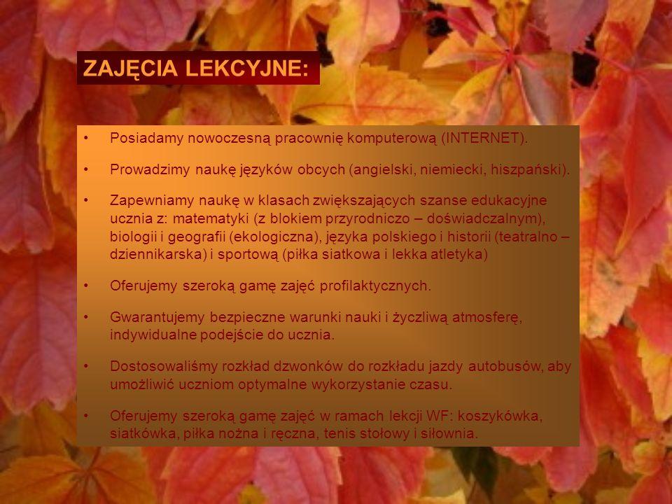 """""""Gimnazjum nr 38 jako jedyne w Łodzi tak pracuje z uczniami …, że na wyjściu ze szkoły są lepsi niż na wejściu (Gazeta Wyborcza, 2.10.2009r.) Co o nas mówią."""