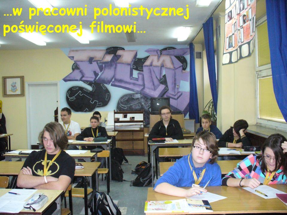 …w pracowni polonistycznej poświęconej filmowi…