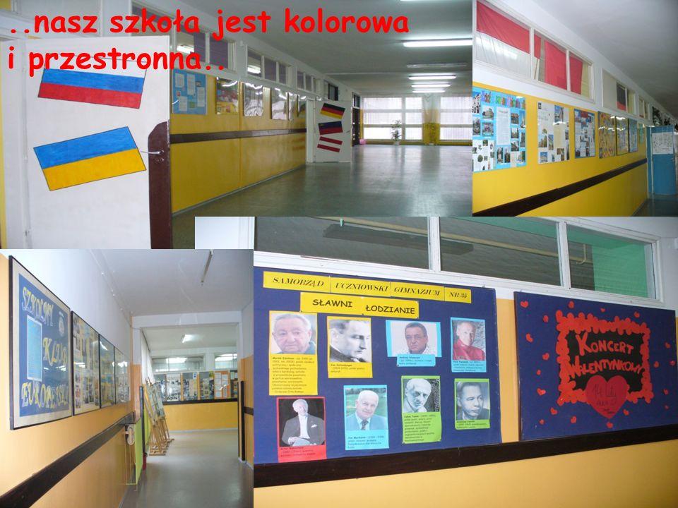 ..nasz szkoła jest kolorowa i przestronna..