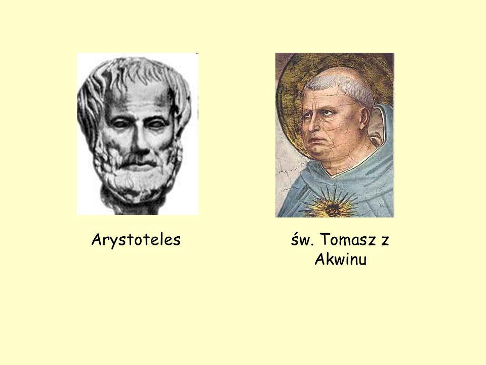 św. Tomasz z Akwinu Arystoteles