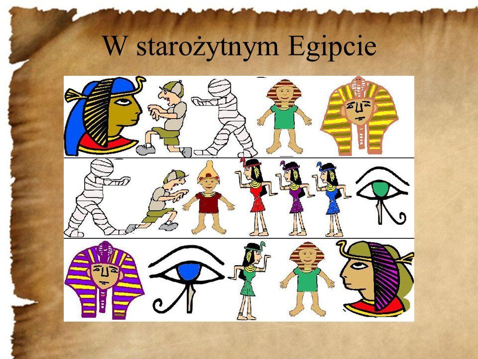 W starożytnym Egipcie