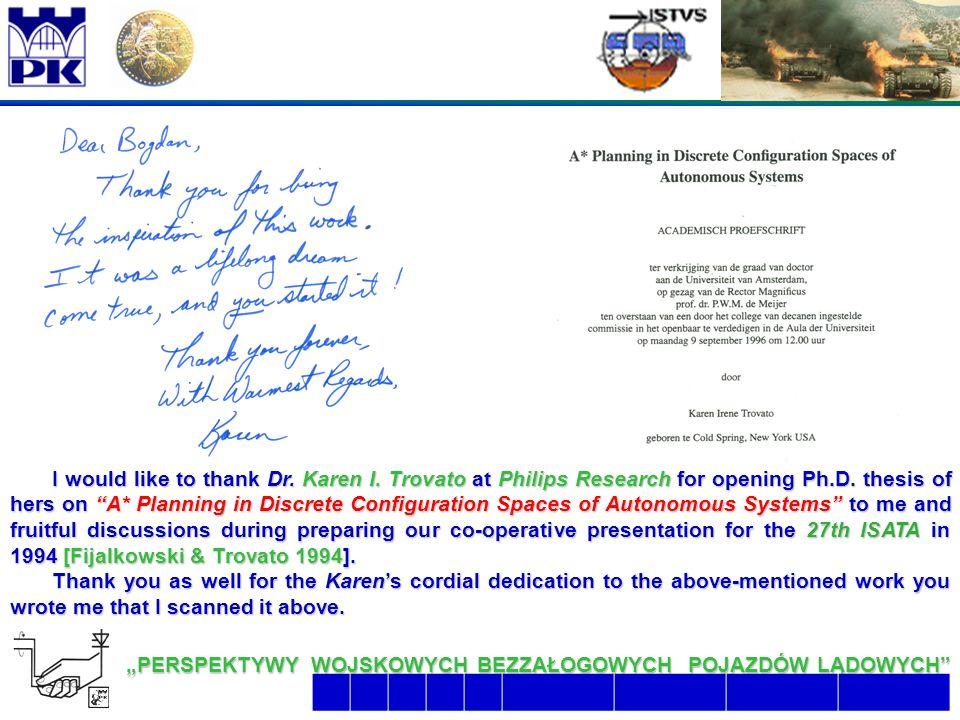 """27 6/26/2016 2:07:48 AM """"PERSPEKTYWY WOJSKOWYCH BEZZAŁOGOWYCH POJAZDÓW LĄDOWYCH  I would like to thank Dr."""