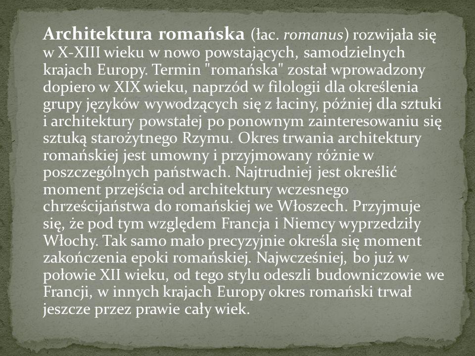 Architektura romańska (łac.