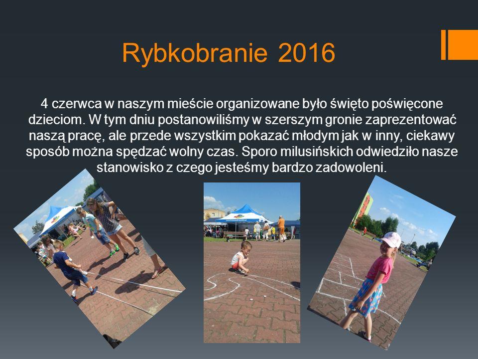 Rybkobranie 2016 4 czerwca w naszym mieście organizowane było święto poświęcone dzieciom.
