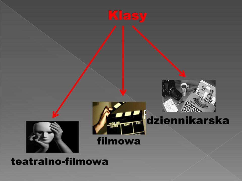 dziennikarska  filmowa teatralno-filmowa