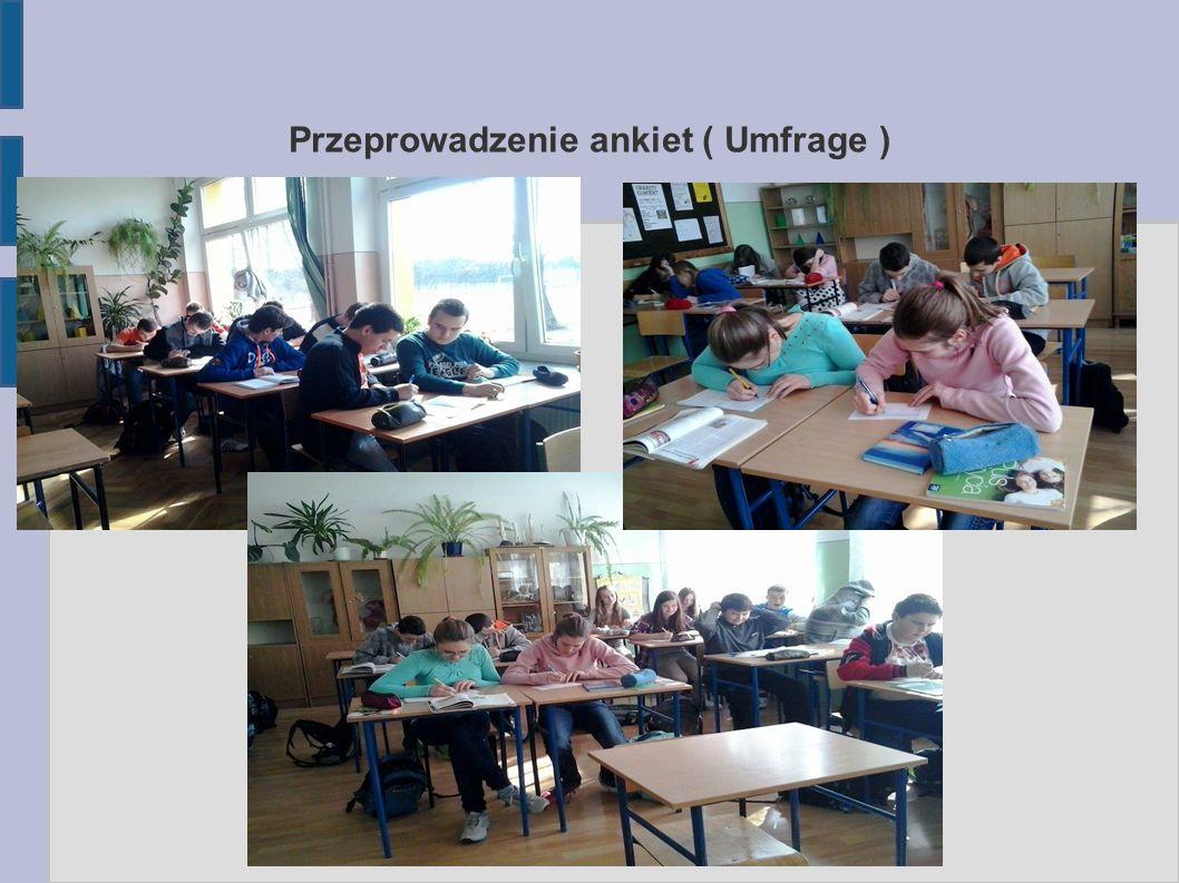 Unsere Aufgaben: Naszym zadaniem było zredagowanie gazetki klasowej.