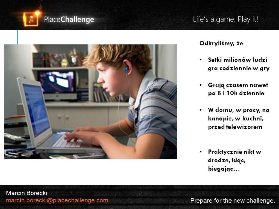Prepare for the new challenge.