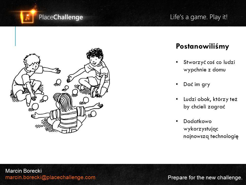 2 Koszty Prepare for the new challenge. Marcin Borecki marcin.borecki@placechallenge.com