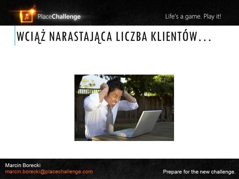 6 Dostępność Prepare for the new challenge. Marcin Borecki marcin.borecki@placechallenge.com