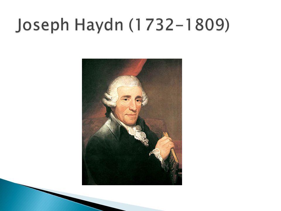 Jego dokładna data urodzenia to 1 kwietnia 1732 roku, zmarł mając 77 lat, 31 maja 1809 roku.