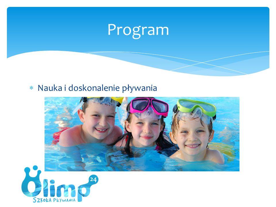  Nauka i doskonalenie pływania Program
