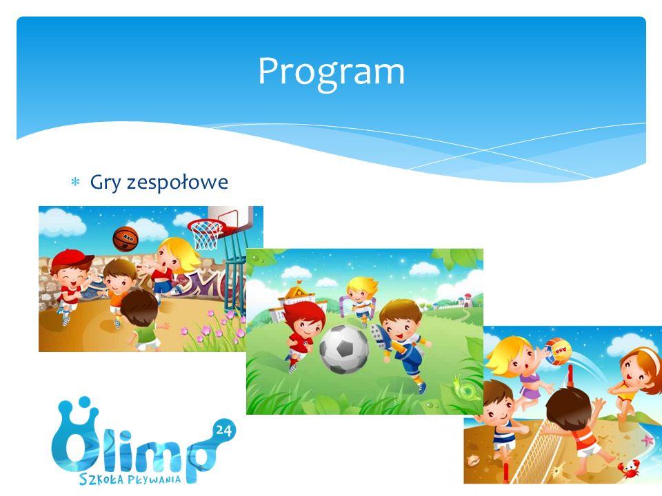  Gry zespołowe Program