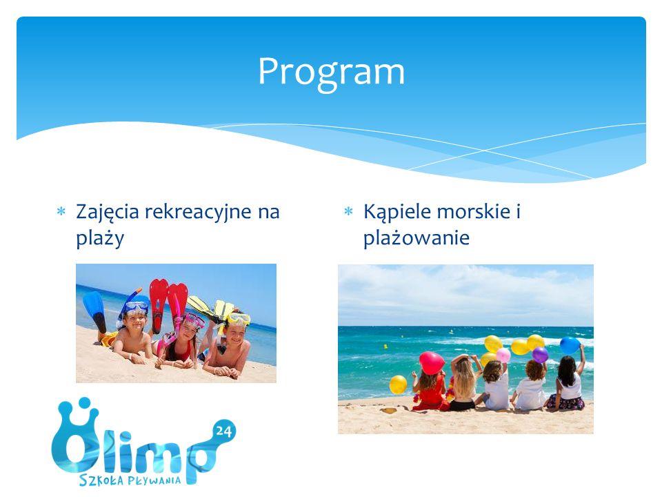  Zajęcia rekreacyjne na plaży  Kąpiele morskie i plażowanie
