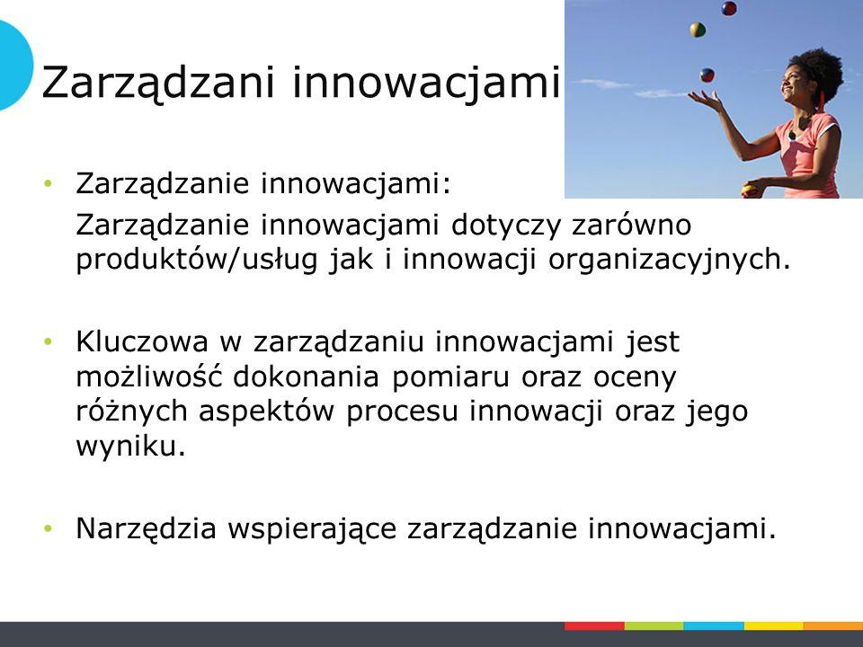 https://www.youtube.com/watch?v=ioOEdot9GR g - krótki film ukazujący znaczenie innowacji organizacyjnych https://www.youtube.com/watch?v=ioOEdot9GR g Zarządzanie innowacjami