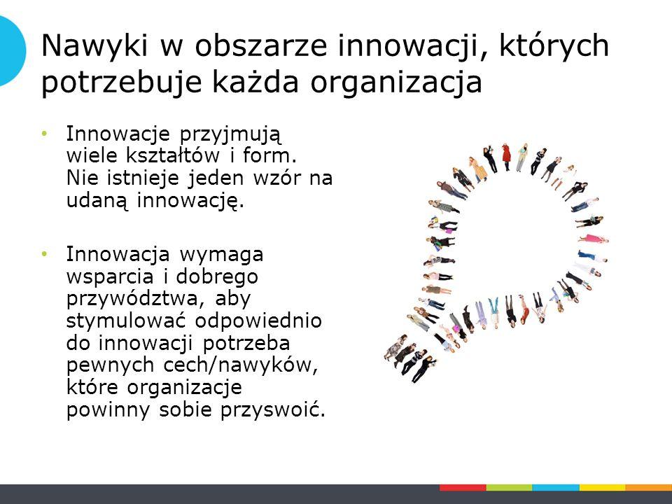 Nawyki w obszarze innowacji, których potrzebuje każda organizacja Innowacje przyjmują wiele kształtów i form.