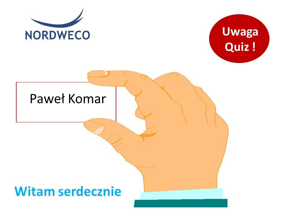 Paweł Komar Witam serdecznie Uwaga Quiz !