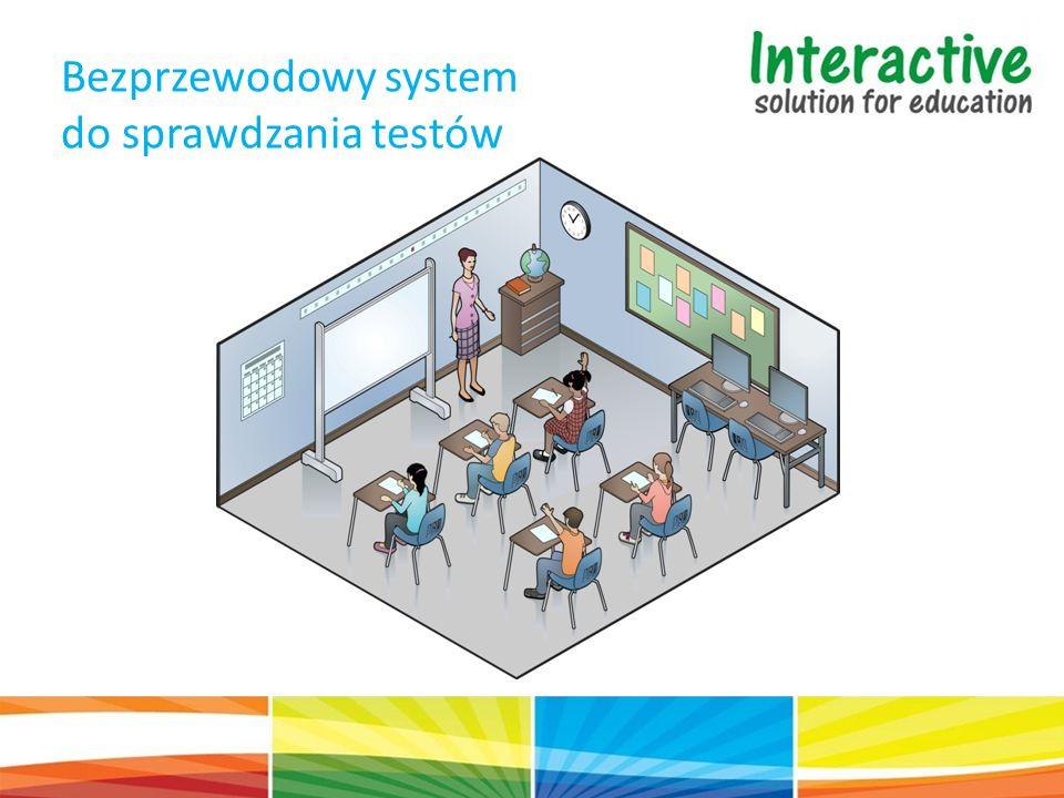 Bezprzewodowy system do sprawdzania testów