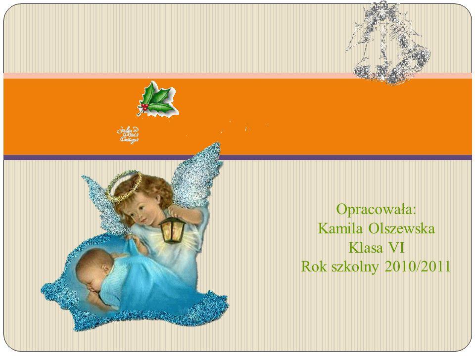 Opracowała: Kamila Olszewska Klasa VI Rok szkolny 2010/2011