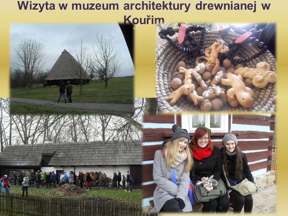 Wizyta w muzeum architektury drewnianej w Kouřim
