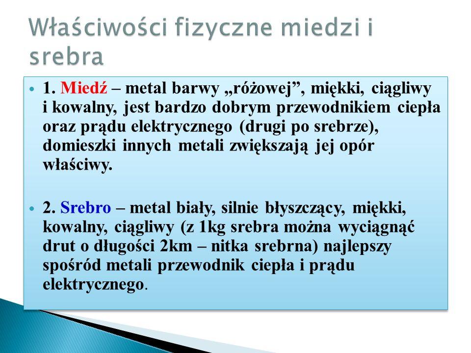 Srebro rodzimeSrebro metaliczne
