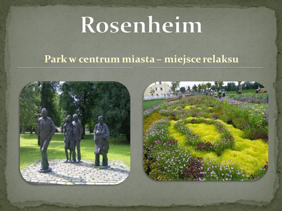 Park w centrum miasta – miejsce relaksu