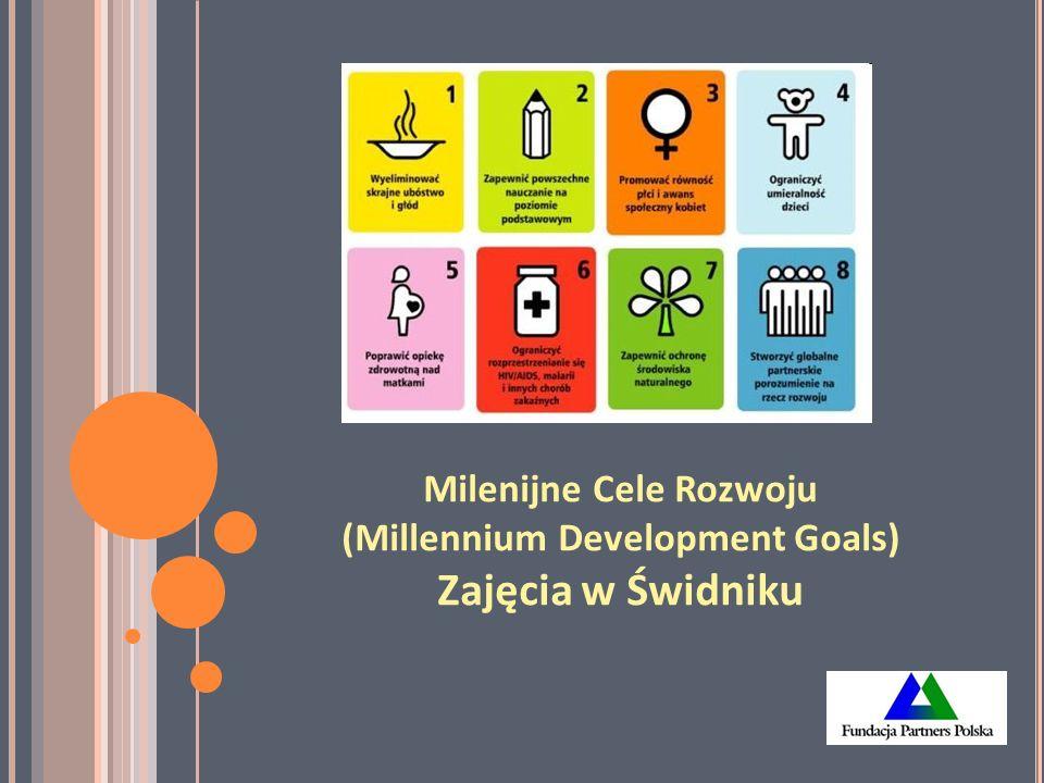 Milenijne Cele Rozwoju (Millennium Development Goals) Zajęcia w Świdniku