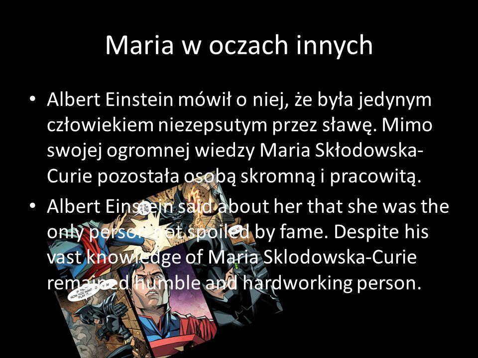 BIBLIOGRAFIA https://pl.wikipedia.org/wiki/Maria_Sk%C5%82odow ska-Curie https://www.google.pl/search?q=maria+sk%C5%82o dowska+curie+ciekawostki+wiki&espv=2&biw=1366 &bih=623&source=lnms&tbm=isch&sa=X&ved=0ahU KEwirqLnvisrJAhUrpnIKHdfIBHEQ_AUIBigB&dpr=1 Grafika Google.