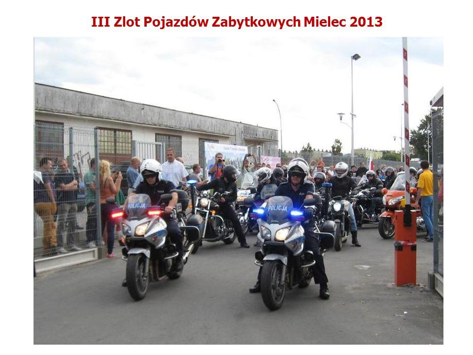 III Zlot Pojazdów Zabytkowych Mielec 2013