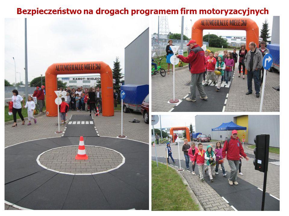 Bezpieczeństwo na drogach programem firm motoryzacyjnych