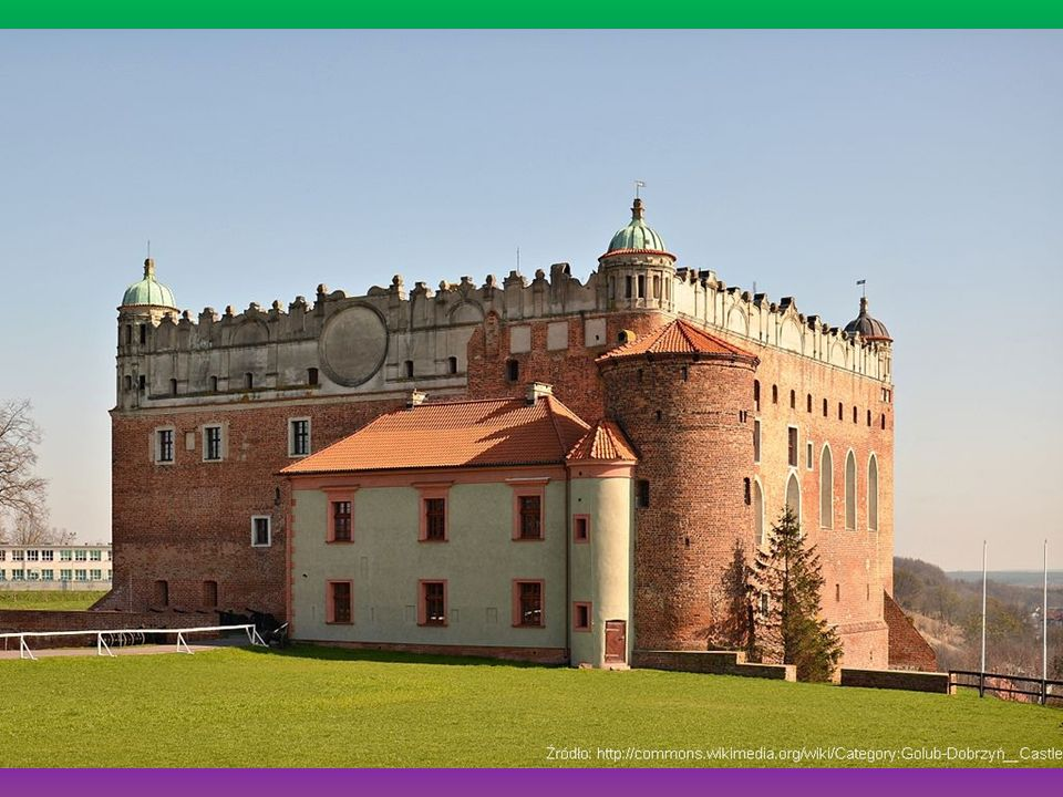 Zamek w Golubiu-Dobrzyniu Gotycko-renesansowy zamek krzyżacki z przełomu XIII i XIV wieku to pięknie położony zabytek o bogatej historii.
