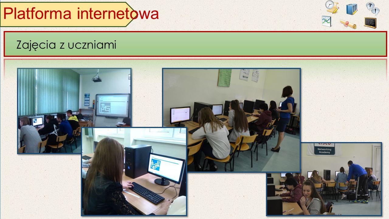 Platforma internetowa Zajęcia z uczniami