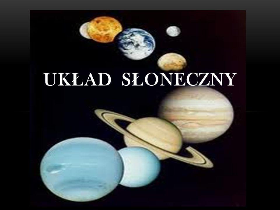 URAN Gazowy olbrzym, siódma w kolejno ś ci od S ł o ń ca planeta Uk ł adu S ł onecznego.