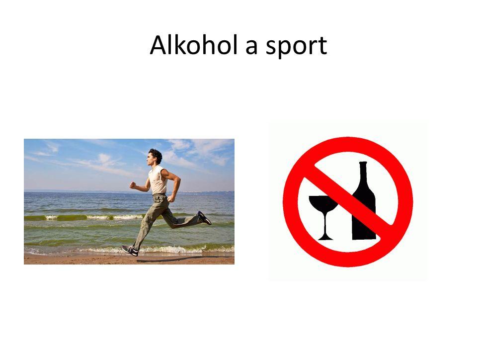 Alkohol a sport