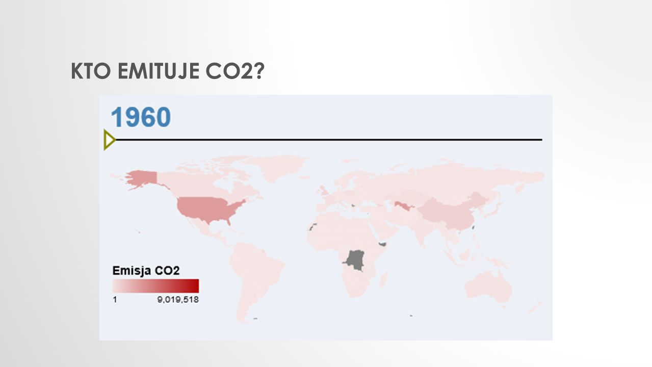 KTO EMITUJE CO2