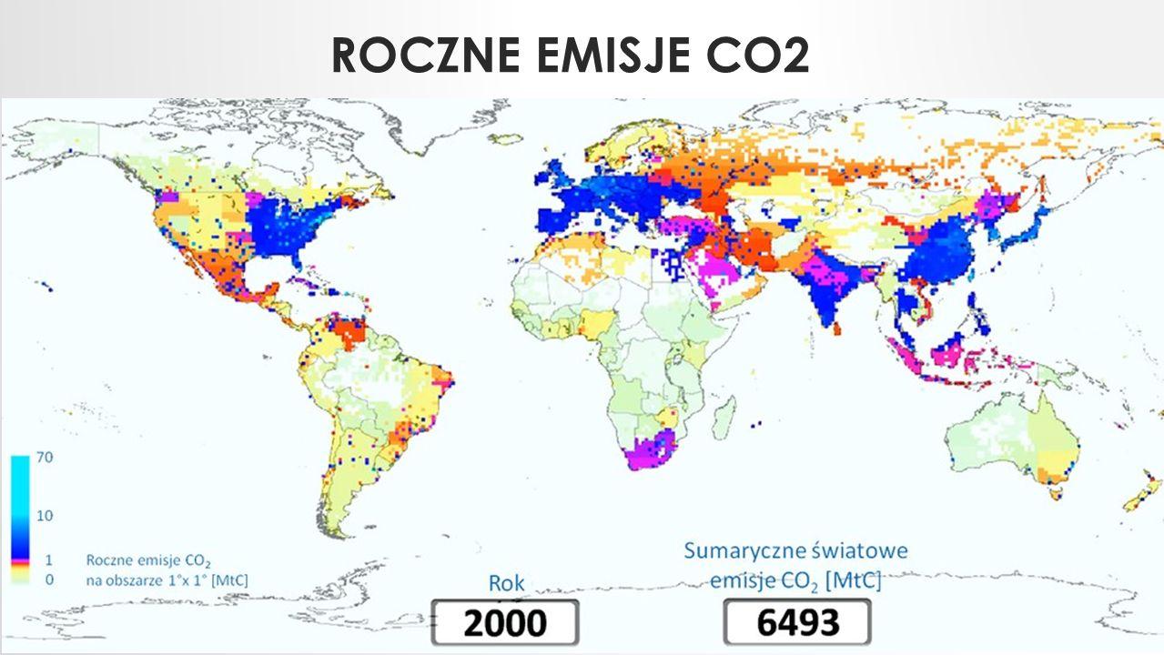 ROCZNE EMISJE CO2