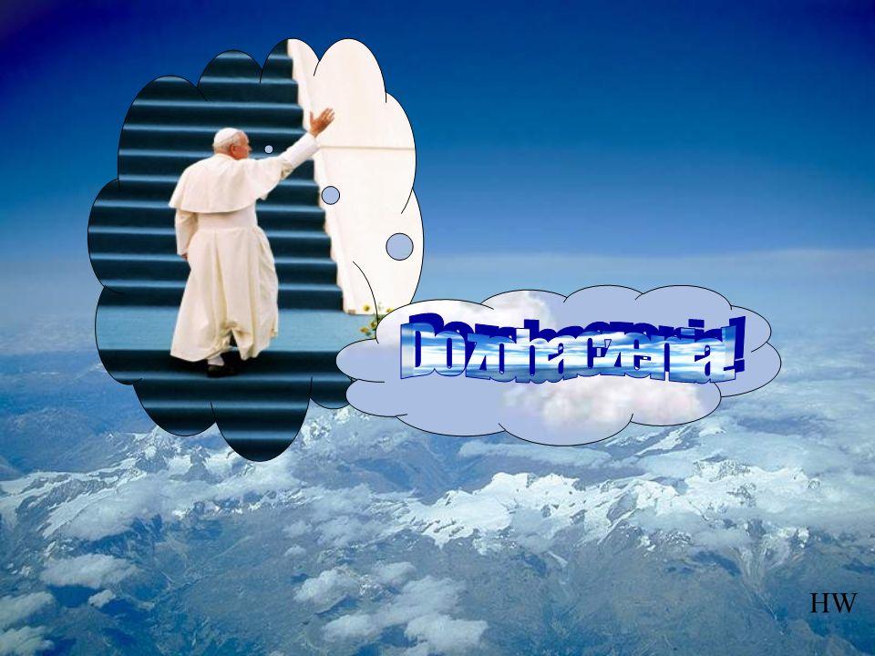 Udziel nam, za jego przyczyną, zgodnie z Twoją wolą, tej łaski, o którą prosimy z nadzieją, że Twój Sługa Papież Jan Paweł II, zostanie rychło włączon