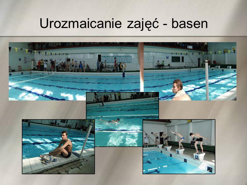 Urozmaicanie zajęć - basen