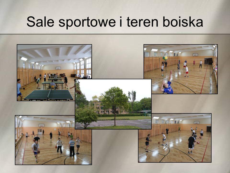 Sale sportowe i teren boiska