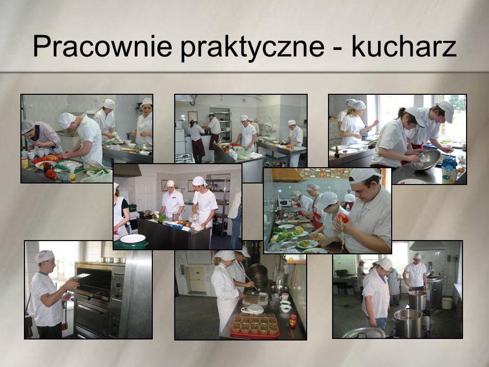 Pracownie praktyczne - kucharz
