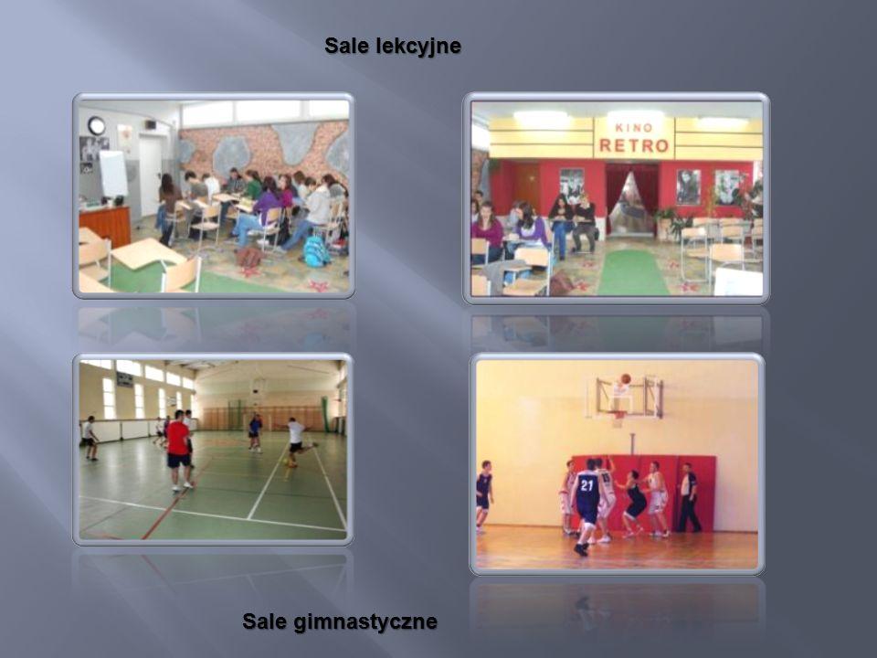 Sale lekcyjne Sale gimnastyczne