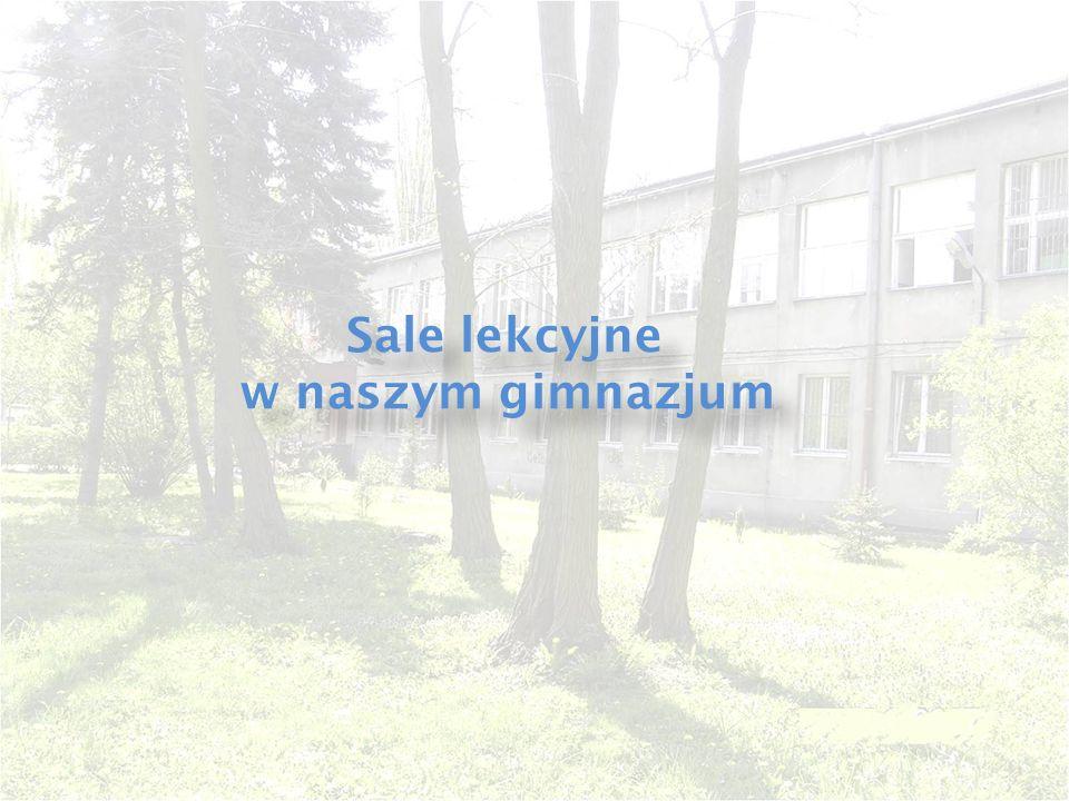 Sale lekcyjne w naszym gimnazjum Sale lekcyjne w naszym gimnazjum