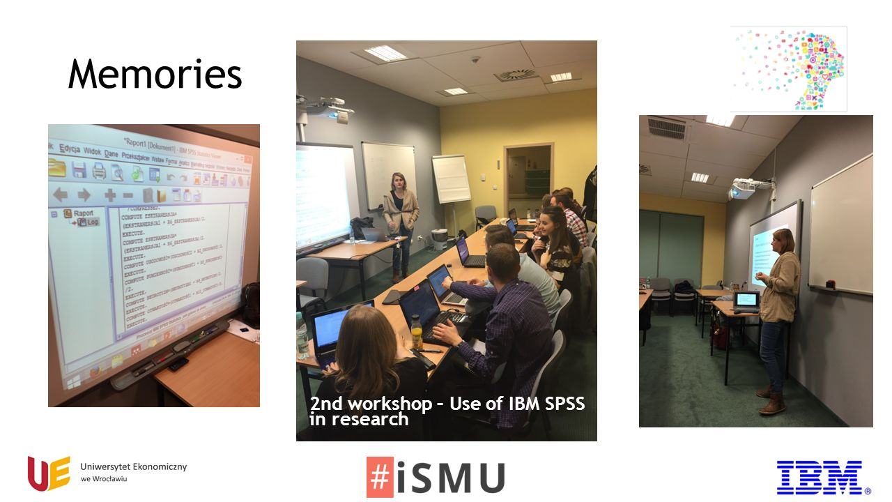 Memories 2nd workshop – Use of IBM SPSS in research