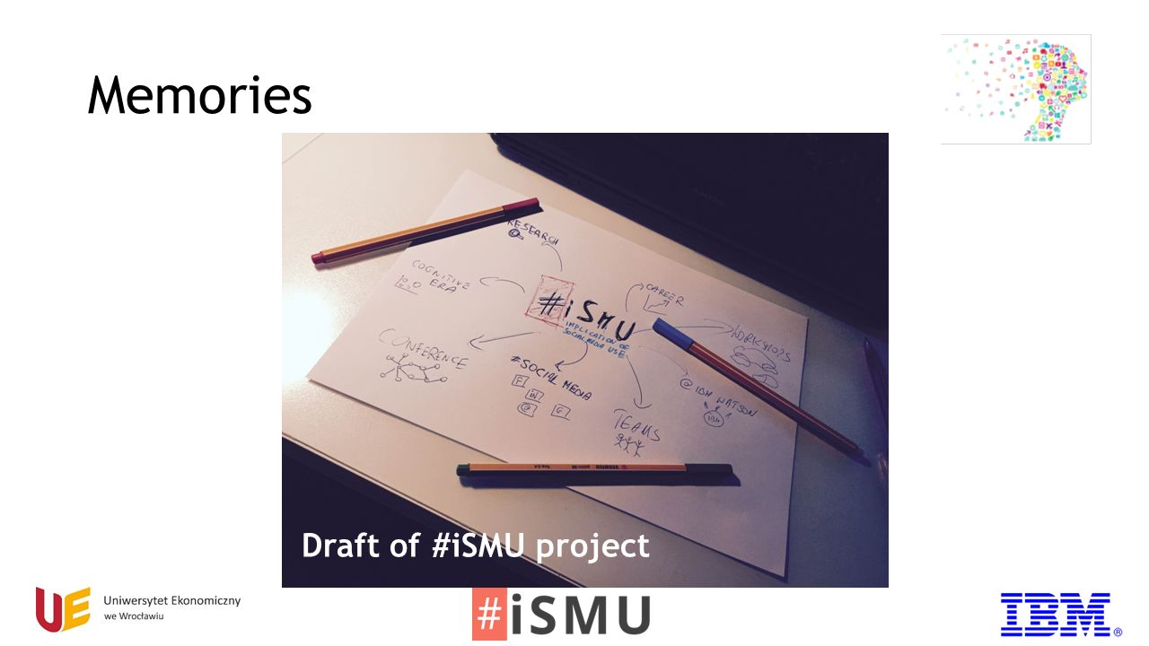 Memories Draft of #iSMU project