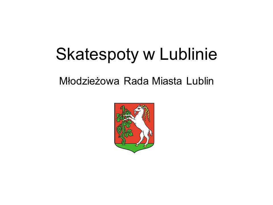 Skatespoty w Lublinie Młodzieżowa Rada Miasta Lublin
