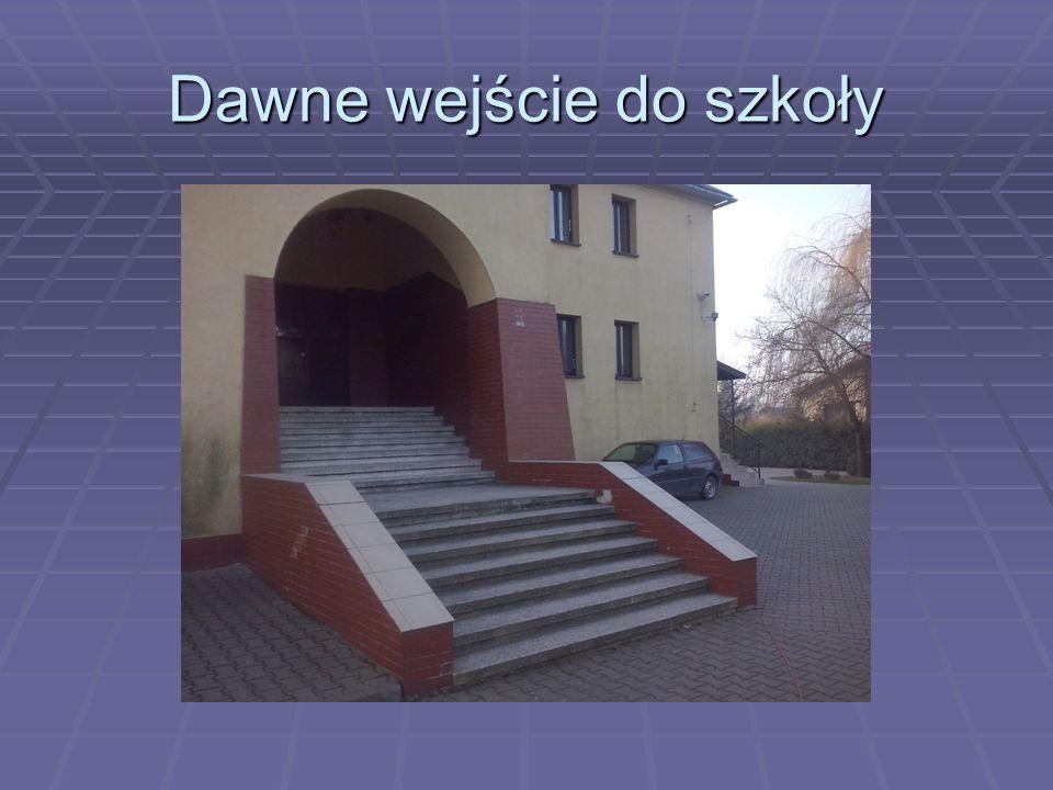 Dawne wejście do szkoły