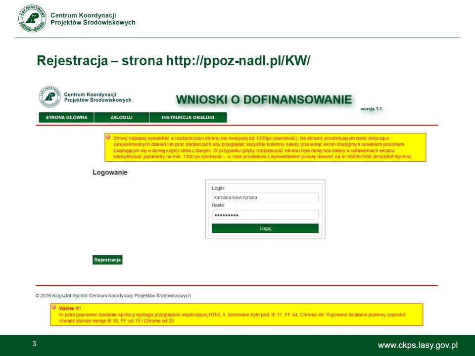 3 Rejestracja – strona http://ppoz-nadl.pl/KW/