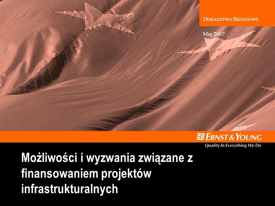 D ORADZTWO B IZNESOWE Możliwości i wyzwania związane z finansowaniem projektów infrastrukturalnych Maj 2007